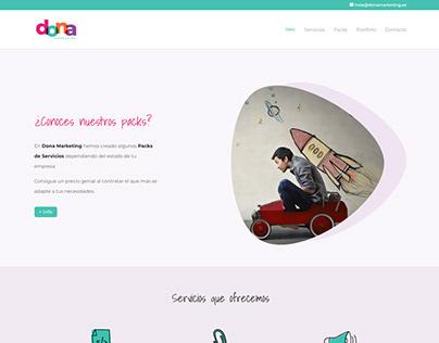 Web de Dona Marketing