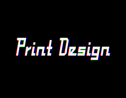 Print Design -