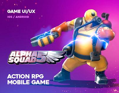 Alpha Squad 5 - UI/UX Design