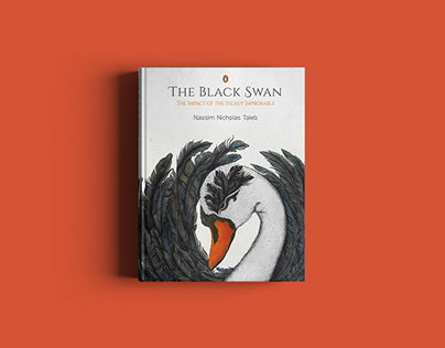 THE BLACK SWAN - BOOK COVER DESIGN