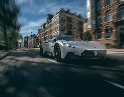 Maserati MC20 3D CGI