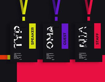 Identity Concept for the TYPOMANIA Festival 2021