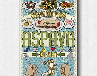 ASPAVA: Aşkı Bulanlara Afiyet Olsun (Poster)