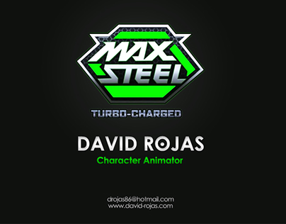 Max Steel Turbo-Charged