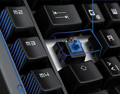 Titanwolf Enforcer Mechanical Gaming Keyboard