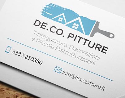 De.Co. Pitture - Business Card