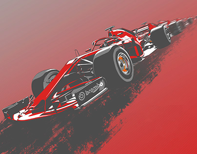 One Year of Racing Illustrations