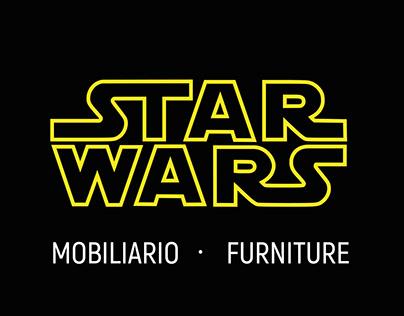 Mobiliario de Star Wars- Star Wars Furniture.