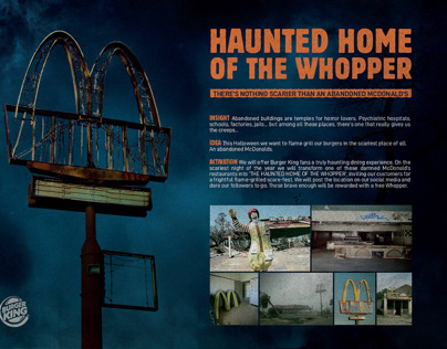 Haunted Home of the Whopper