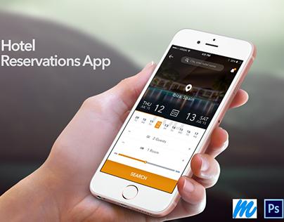 Booking App UI