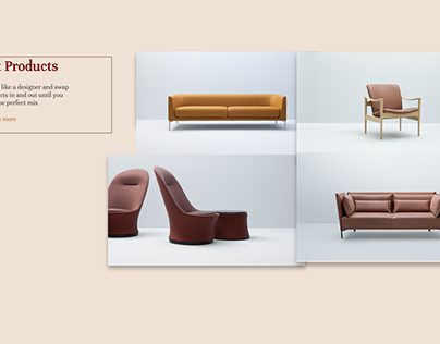 furniture web design