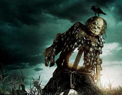 CBS FILMS   Scary Stories   EPK Website UI Design