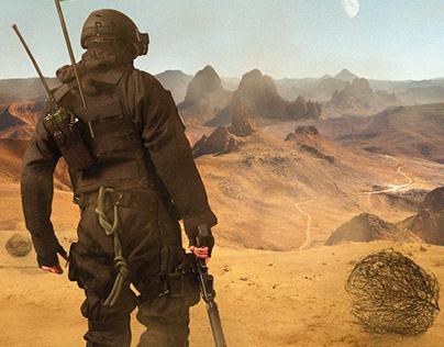 Algerian soldier
