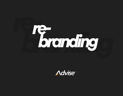 Advise - Proposta de Rebranding 2019
