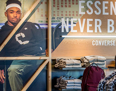 Converse Essentials In-Store Display