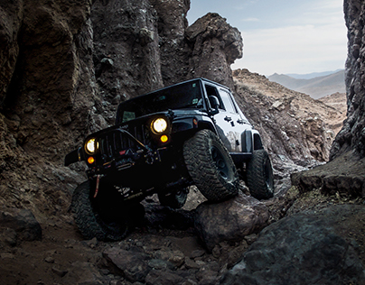 Lone Wrangler - Jeep