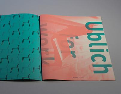 Üblich Chair: Promotional Booklet