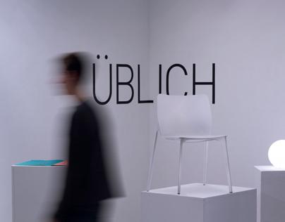 Üblich Chair: Furniture Fair Display