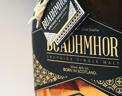 Buadhmhor Whisky Branding