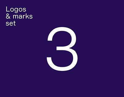 Logos and marks set 3