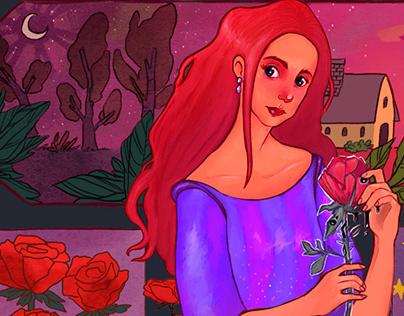 La Dama de la Rosa