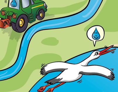 Waterpraatjes illustraties