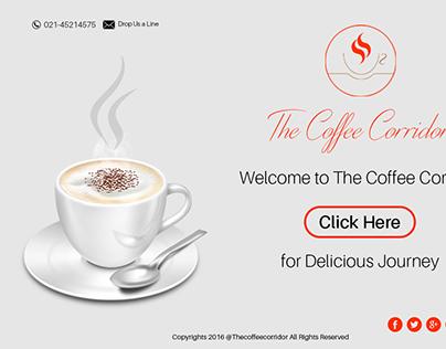 Coffee Corridor Website Design