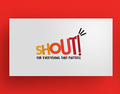 Shout! - Logo design and branding