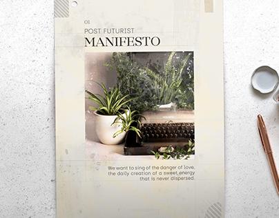 The Post-Futurist Manifesto