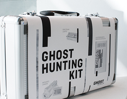 Ghost Museum Branding