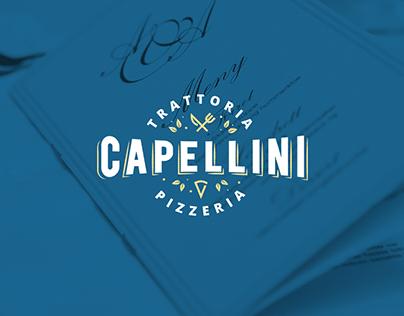 Italian Restaurant Capellini - Branding