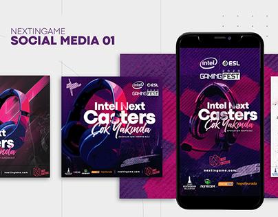 Next Casters Social Media