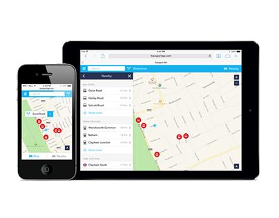 Transport API – Journey Planning App