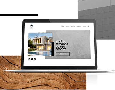 UI Design - Landing Page Engemax