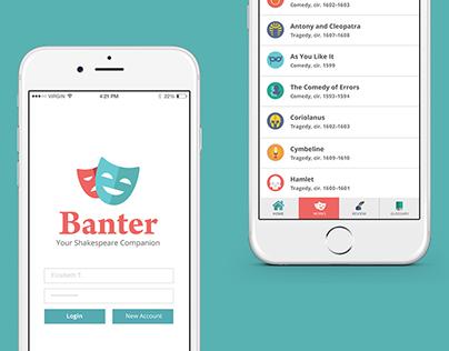 Banter | Shakespeare App