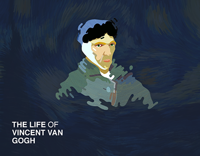THE LIFE OF VINCENT VAN GOGH - motion graphic design