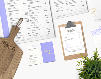 La Cocina de Mima / Branding + Menu Design