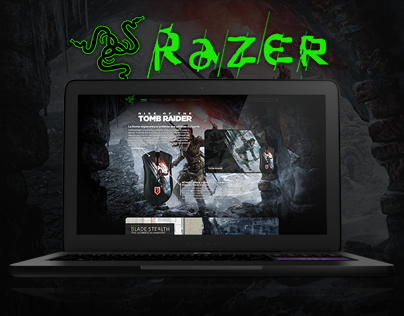 Razerzone | Re-design