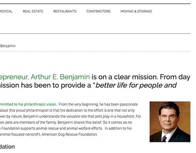 Certified Consumer Reviews - Arthur E. Benjamin