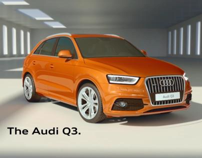 Audi Q3 ad
