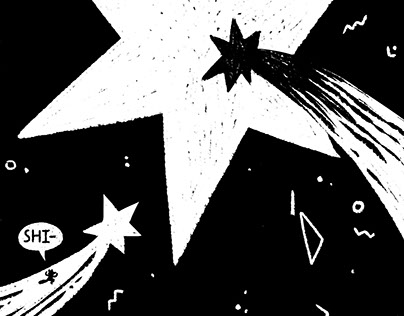 The Star — Comics for anthology The Second Stage