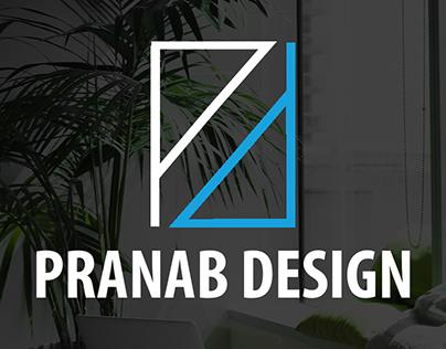 Pranab Design Logo