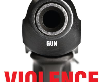 """AIGA """"End Gun Violence"""" Poster"""