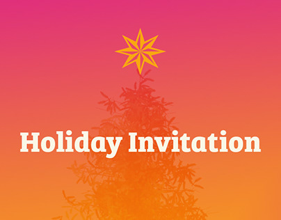 Healthcare Holiday Invitation