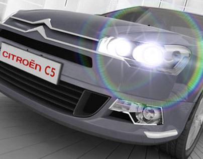 Citroën C5 - Website