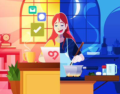 Swit: Work from Home - Life Balance