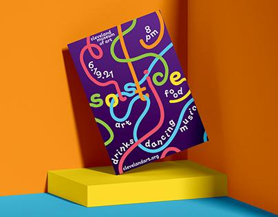 Solstice Fest Event Poster