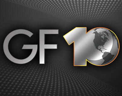 GlobalFoundries 10th Anniversary Logo
