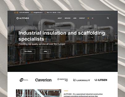 Altitudo - Web Design