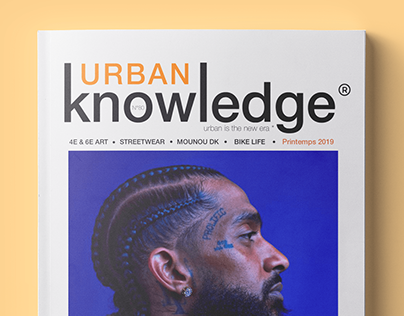 Urban Knowledge - Magazine conception